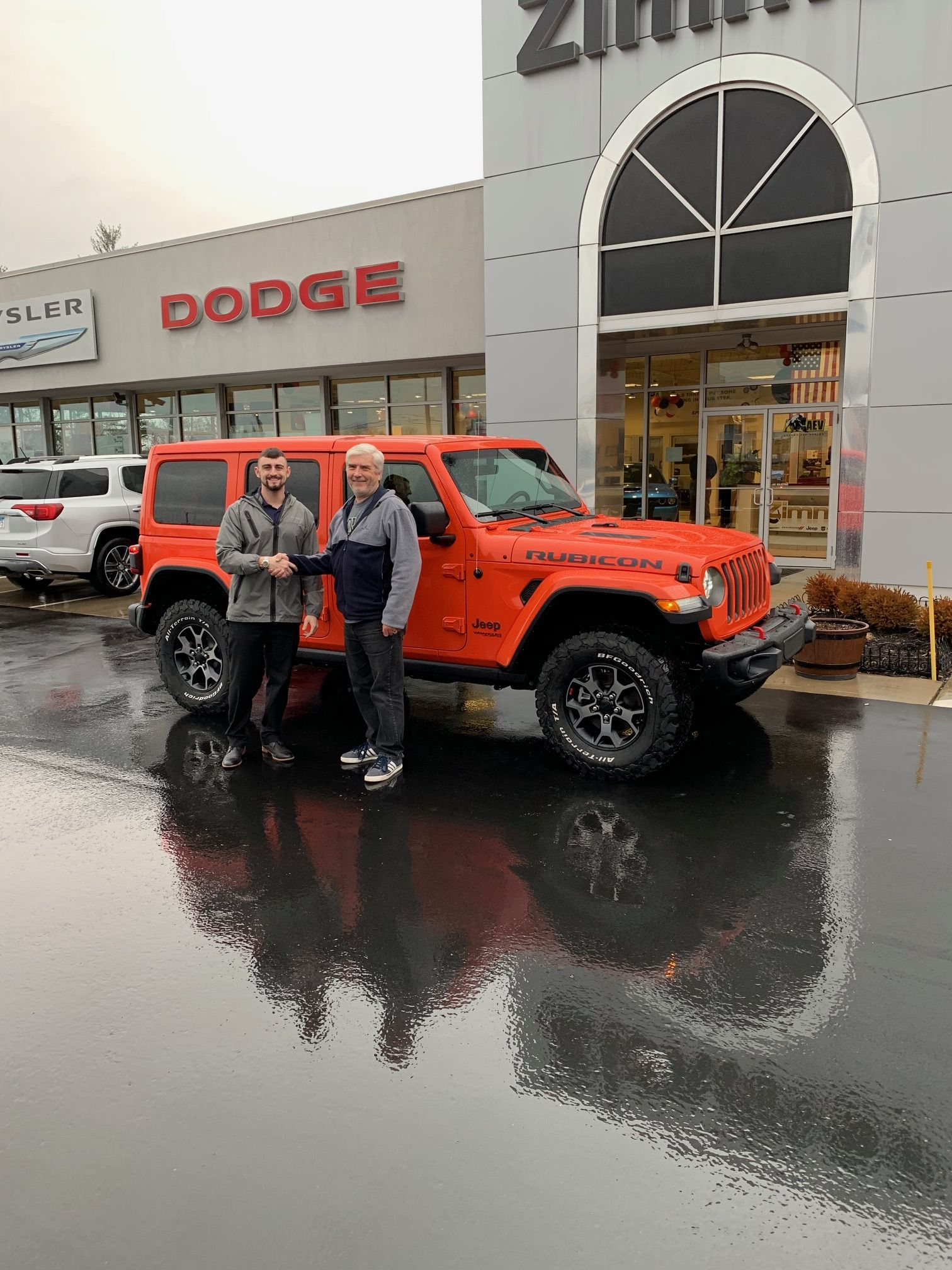 David Fox Was Looking For The Exact Rubicon He Wanted And He Found It At Zimmer Cdjr David Flew Out From San Di Chrysler Dodge Jeep Jeep Dealer Car Dealership
