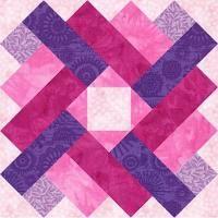 Siena Square Paper Pieced Quilt Block - via @Craftsy