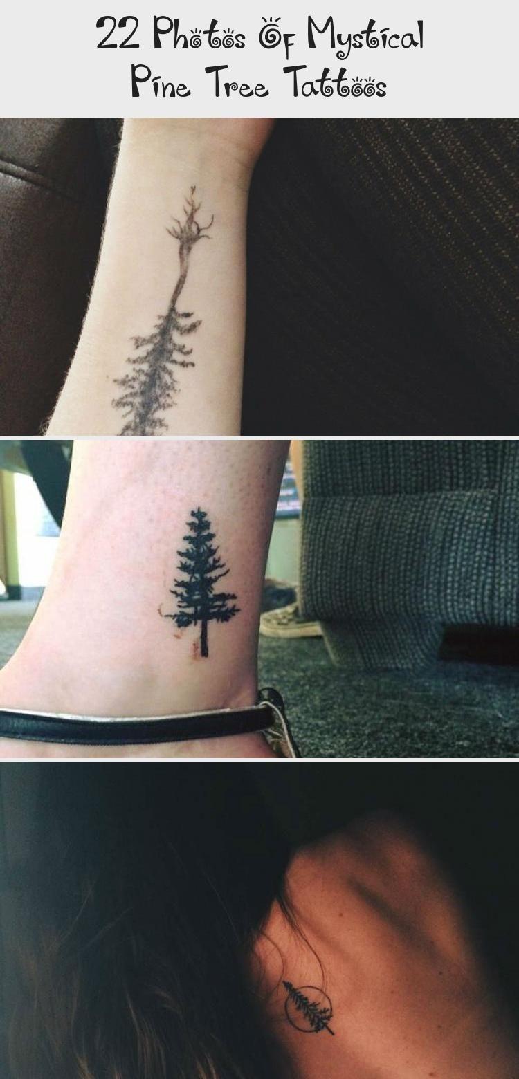 Photo of 22 Photos Of Mystical Pine Tree Tattoos – Tattoos