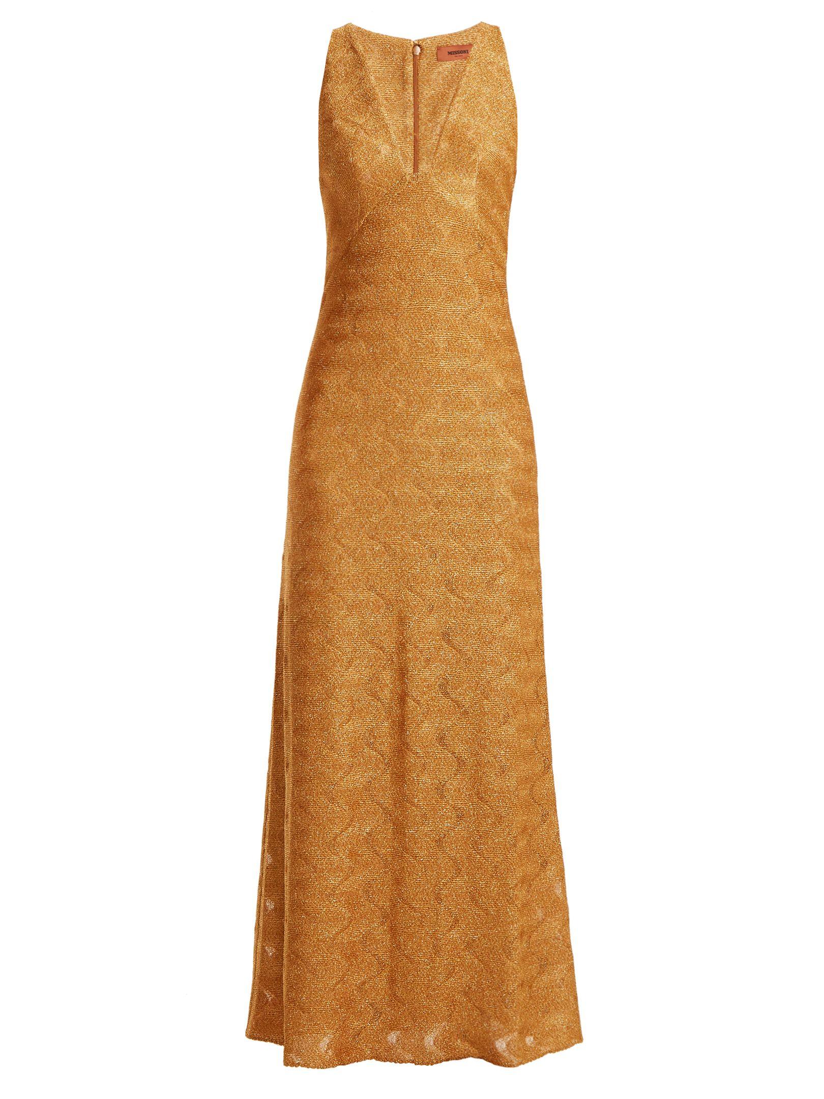 e6ac415dc686b MISSONI Wave-knit V-neck dress. #missoni #cloth # | Missoni ...