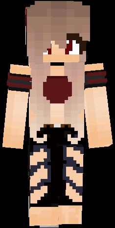 Red Hd Girl Wolf Cutee Kind Nice Minecraft Girl Skins Minecraft Skins Cute Minecraft Skins Aesthetic