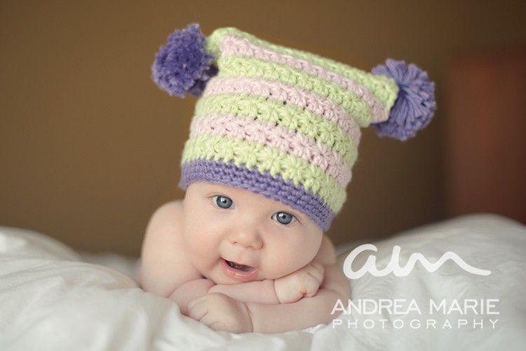 Square Star Stitch Hat (Crochet Pattern) | Pinterest | Preemies ...