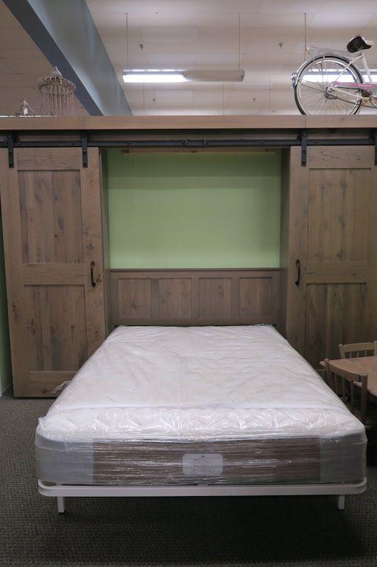 Barn Door Murphy Bed Dutch Haus Custom Furniture