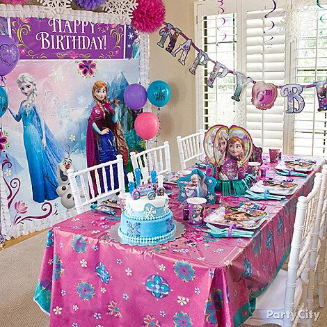 Party City Frozen Decorations