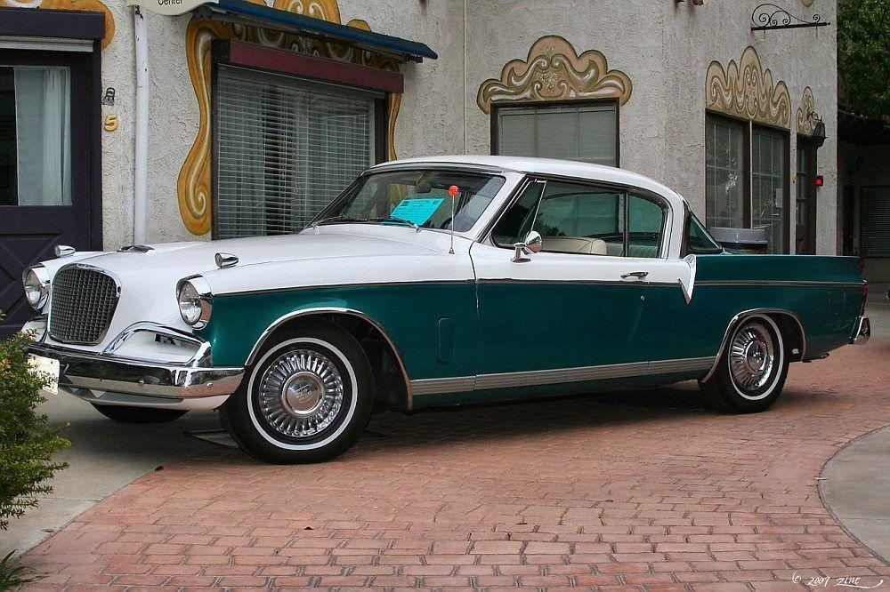 1956 Studebaker Golden Hawk Studebaker Vintage Cars Vintage Cars 1950s