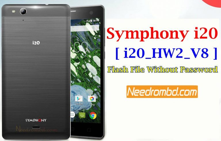 Symphony i20 MT6580 Flash File Without Password | Smartphone