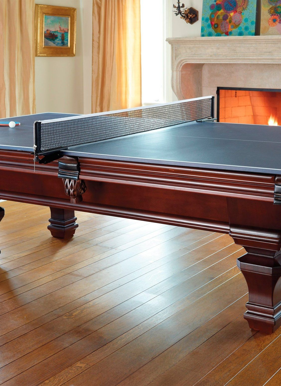 Table Tennis Room Design: Turn Your Billiards Table Into The Ultimate Game Room