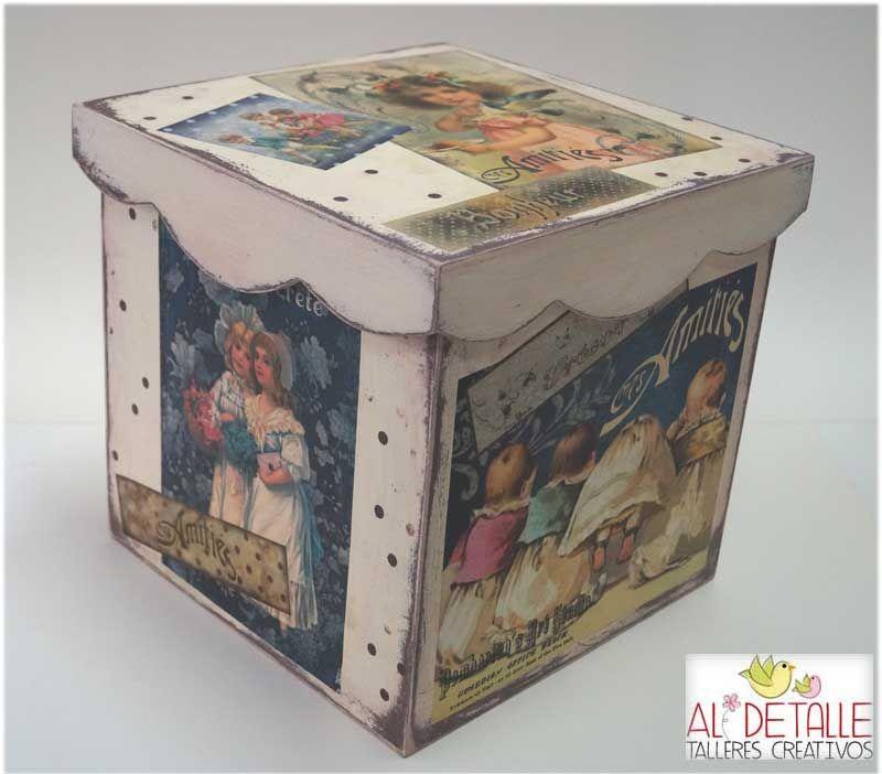 Rosabel manualidades cajas decoradas decorar con papel etc cajas decoradas cajas y - Decorar cajas de madera con papel ...