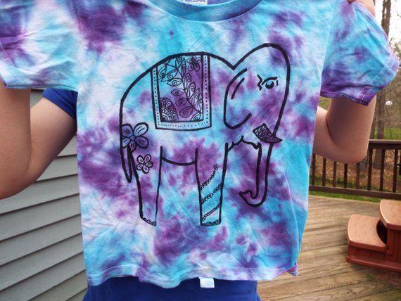 947229ee Kids Elephant Shirt, Custom Tie Dye Elephant T-shirt, Kids Tie Dye Shirt,  Elephant Birthday, Girls E
