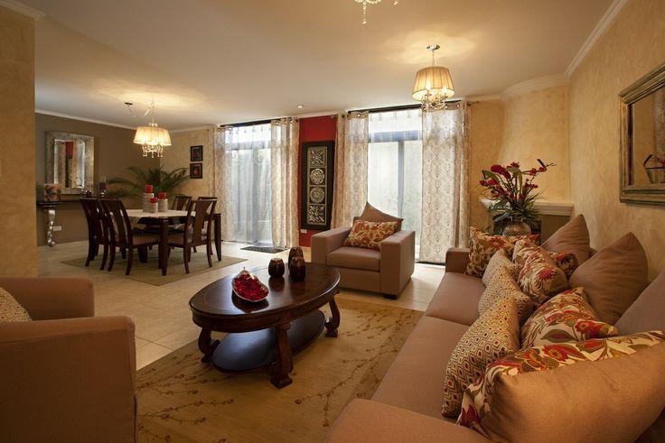 sala con tonalidades neutras - crte minimo de color casas - colores calidos para salas