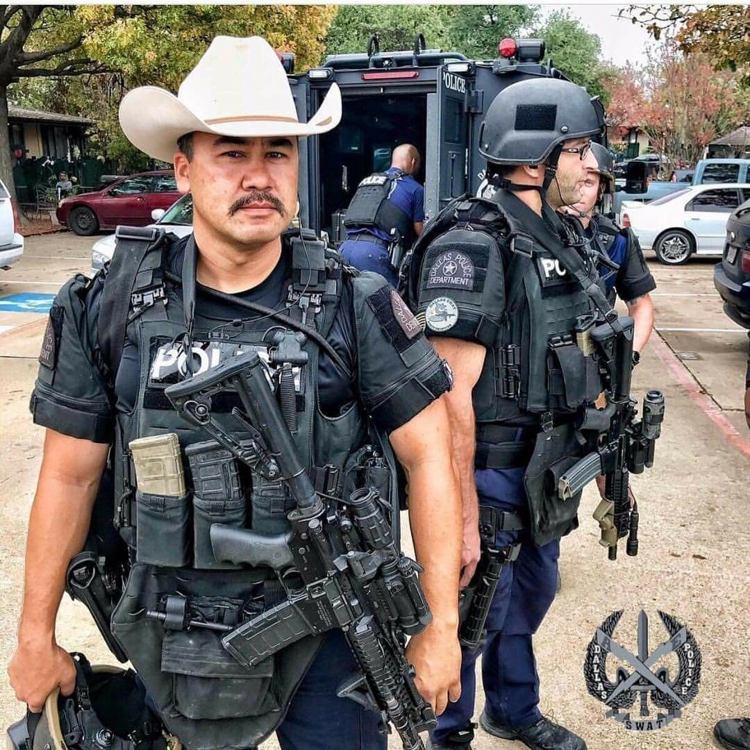 Dallas PD SWAT Team 🇺🇲🇨🇱 | uniforms | Texas state