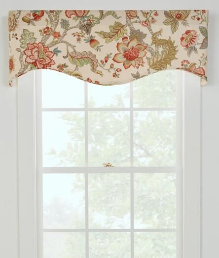 Alexandria Lined Scalloped Valance