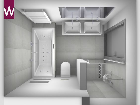 Badkamer ontwerpen? | Small bathroom, Bathroom designs and Bath