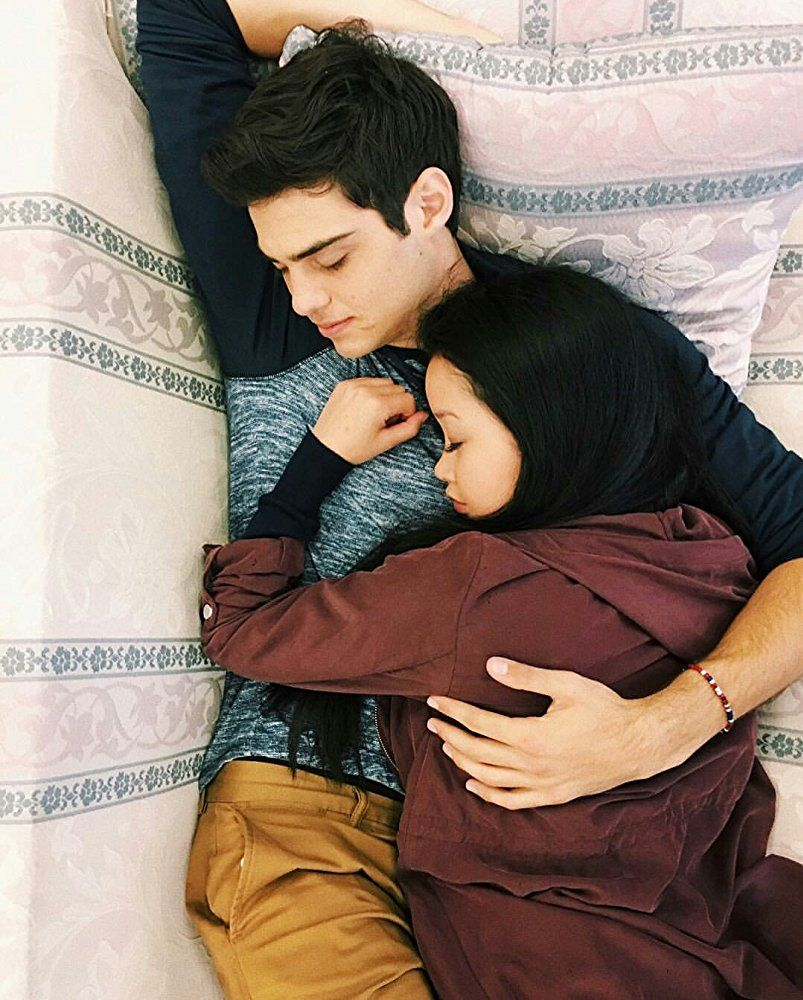 Noah Centineo And Lana Condor In To All The Boys I Ve Loved Before