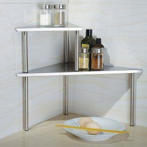 Countertop Corner Shelf Bathroom. Counter Shelves Bathroom