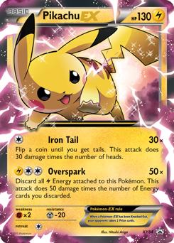 carte pokemon pikachu ex Pikachu EX (With images) | Pokémon tcg, Pokemon cards, Rare