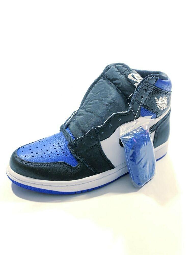 Nike Air Jordan 1 Retro High OG Royal Toe Basketball Shoes