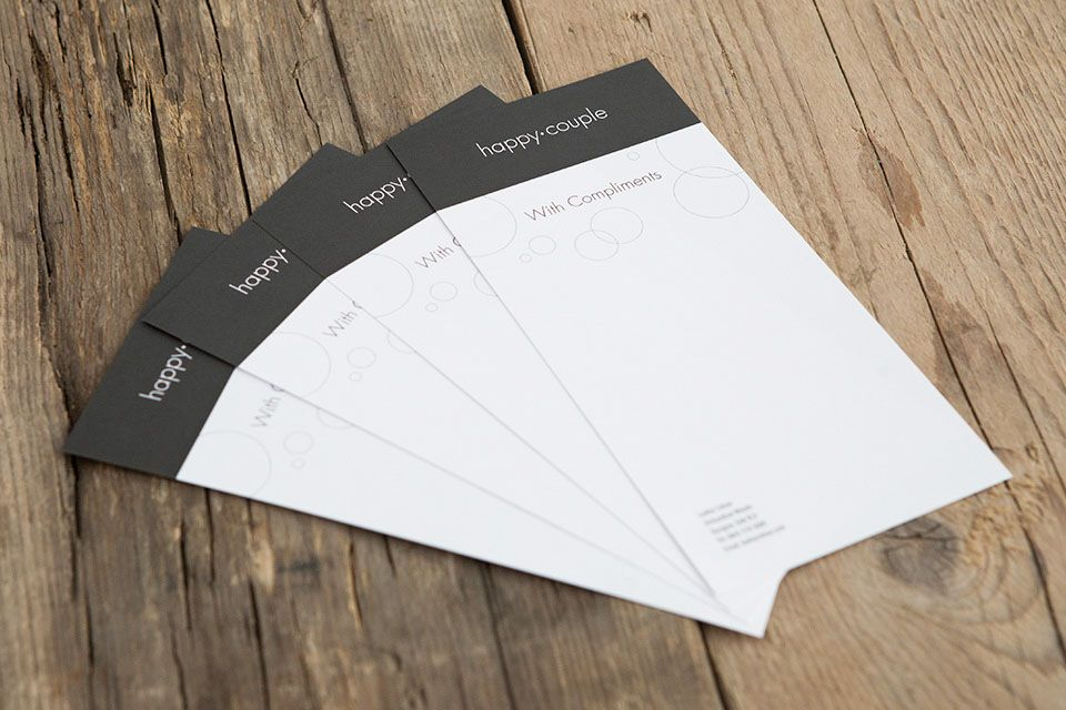 Print Your Own Compliment Slips Choose A Template Personalize