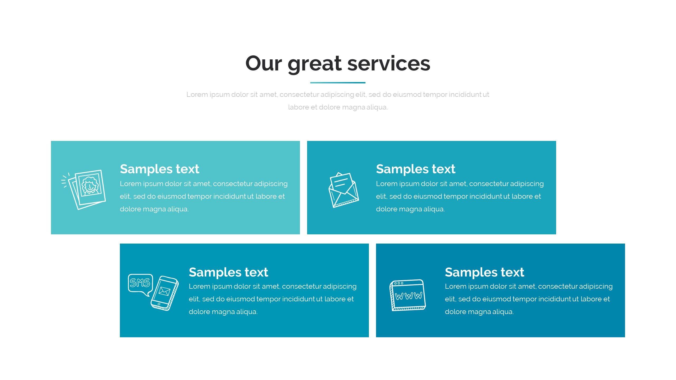 Processing System Google Slide Pitch Deck Template Material Design Background Templates Business Website