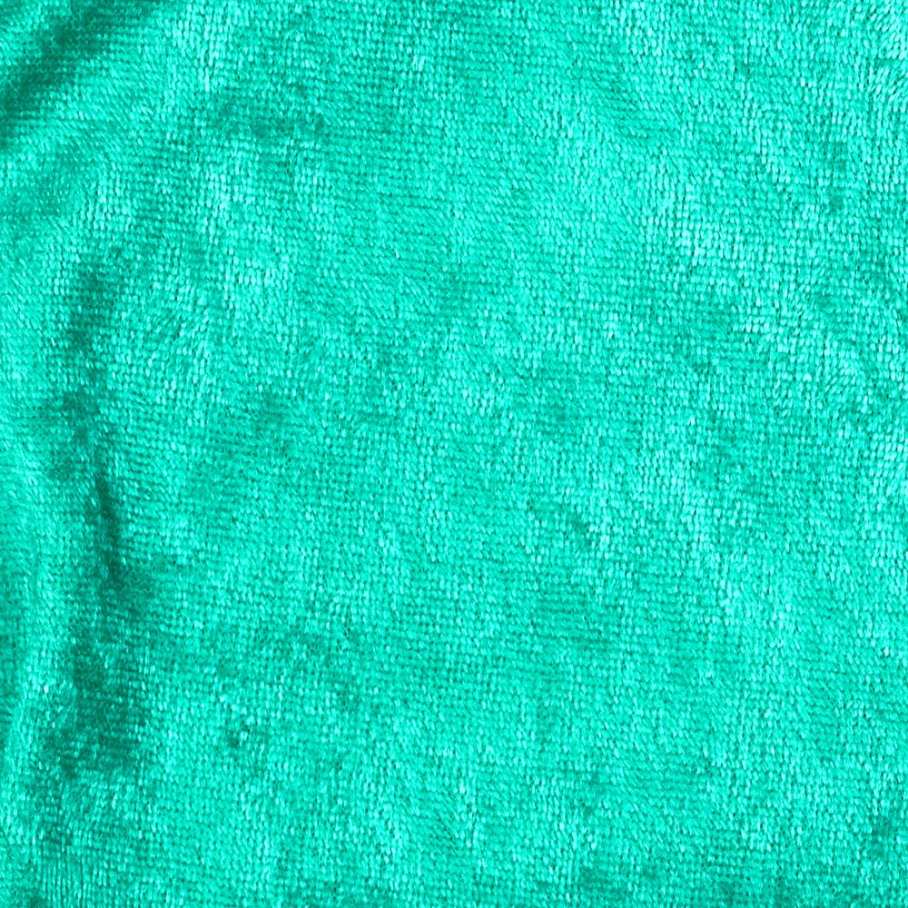 Crushed Panne Velour Kelly Green Fabric By The Yard