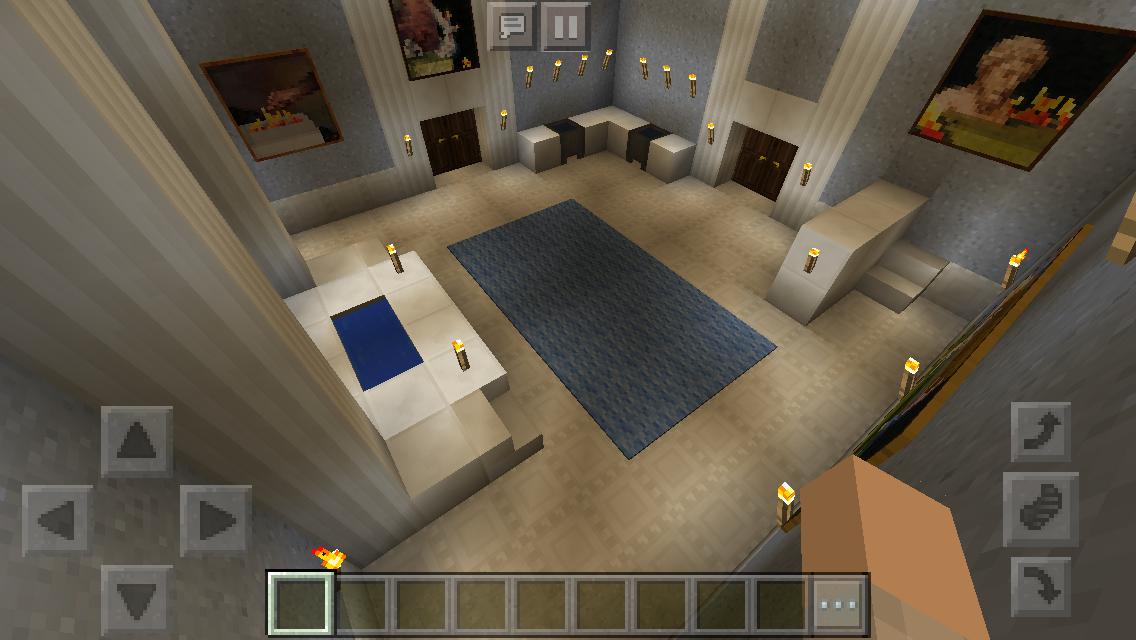 My Mansion- Minecraft Downstairs Bathroom | Minecraft