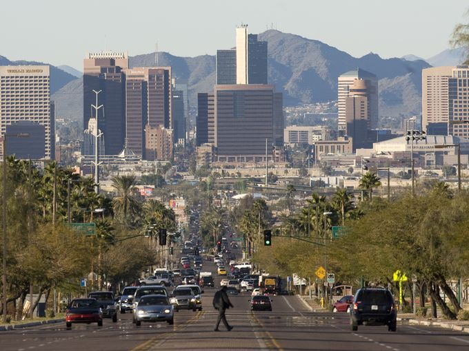 largest capital city  phoenix is the largest capital city in area in the u s