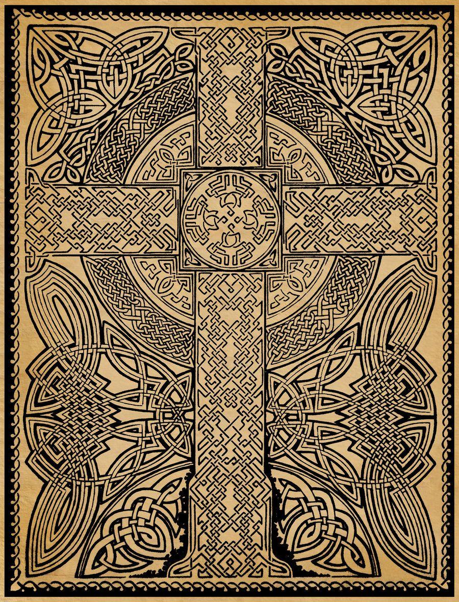 birdsofrhiannon: celtic cross | Art #3....zentangles ...