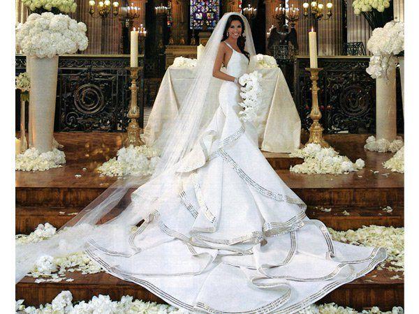 los 10 vestidos de novia más fashion de hollywood | bodas famosos