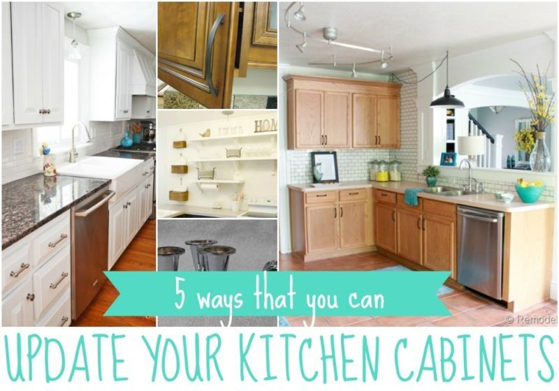 Incroyable When It Comes To Updating A Kitchen, The Thing That Makes The Biggest  Difference Is The Cabinets. Here Are Our Top 5 Ways To Give Your Cabinets  New Life ...