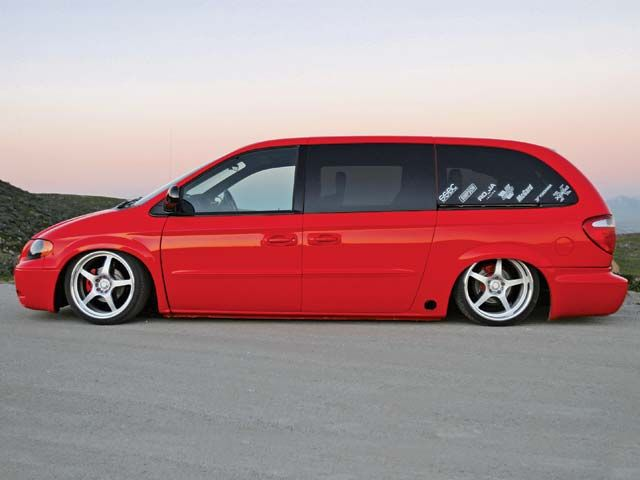 Lowered Dodge Caravan Here S What I Should Do To The Wifes With