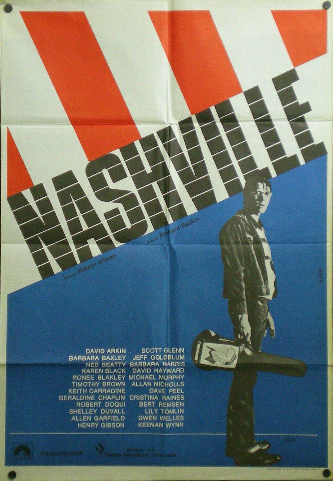 Risultati immagini per nashville film poster