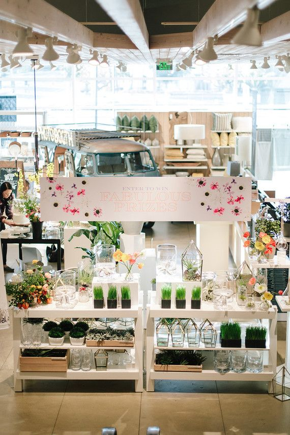 Crate and Barrel Private Wedding Registry Event Private