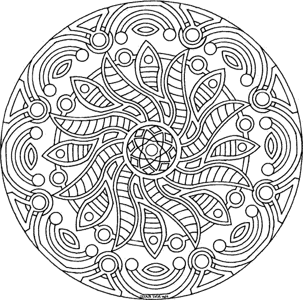 detailed coloring pages for adults Printable Kids