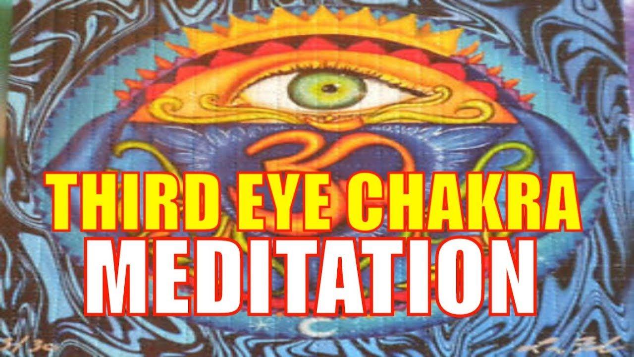 THIRD EYE CHAKRA MEDITATION MANDALA | CHAKRA HEALING MUSIC (AJNA