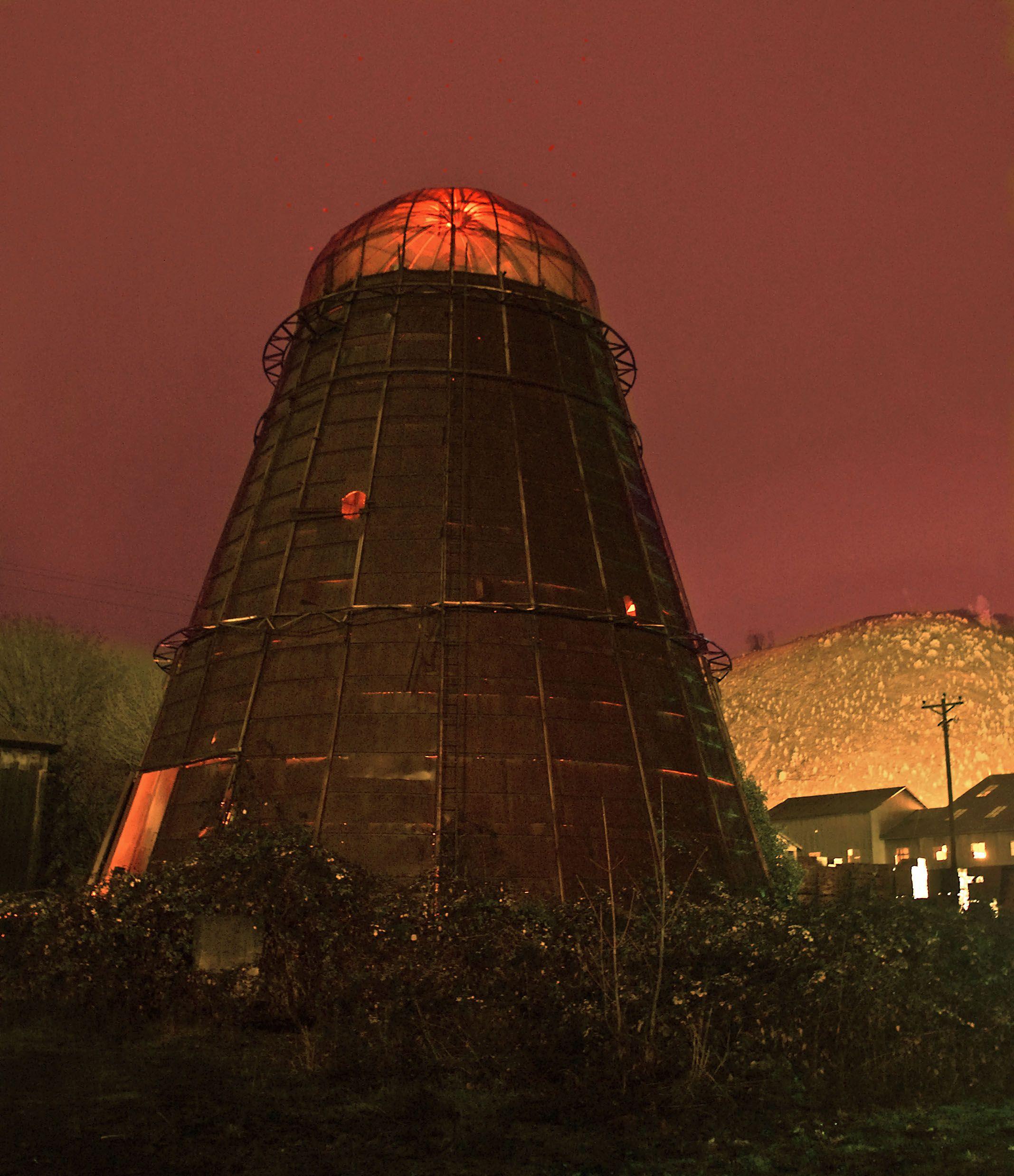 Tepee lumber mill  Looks like a Dalek to me  | Lumber Mills