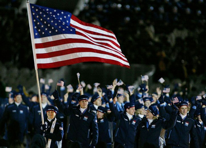 Team USA Wears Roots at the 2002 Olympics in Salt Lake City