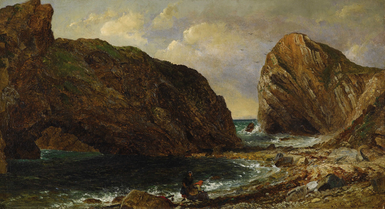 By The Sea Lulworth Jasper Francis Cropsey