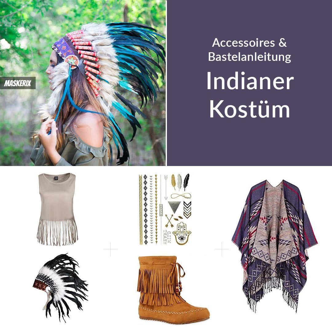 Indianerin Kostum Selber Machen Diy Anleitung Indianer Kostum Selber Machen Indianerin Kostum Kostume Selber Machen