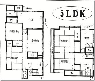 traditional japanese house floor plan - Google Search | Japanese ...
