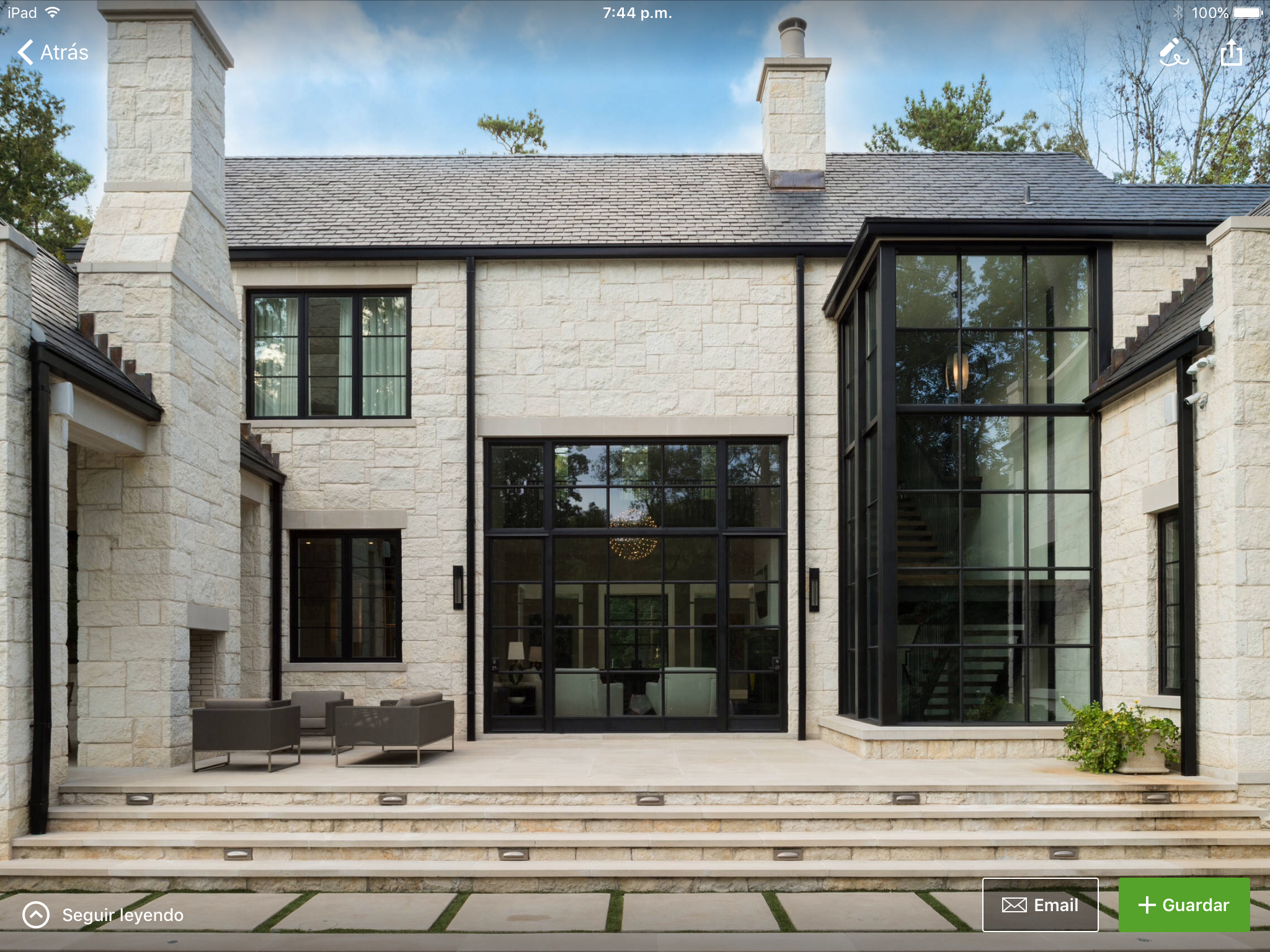 Home and Garden Modern Exterior Architecture