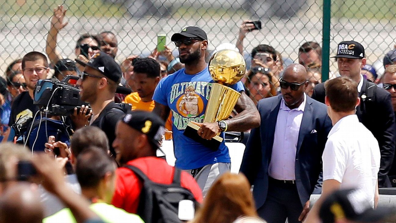 How LeBron bore the weight of an entire city Lebron