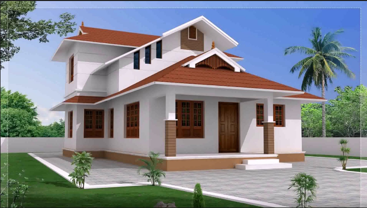 A Type House Design In 2020 House Roof Design Roof Design