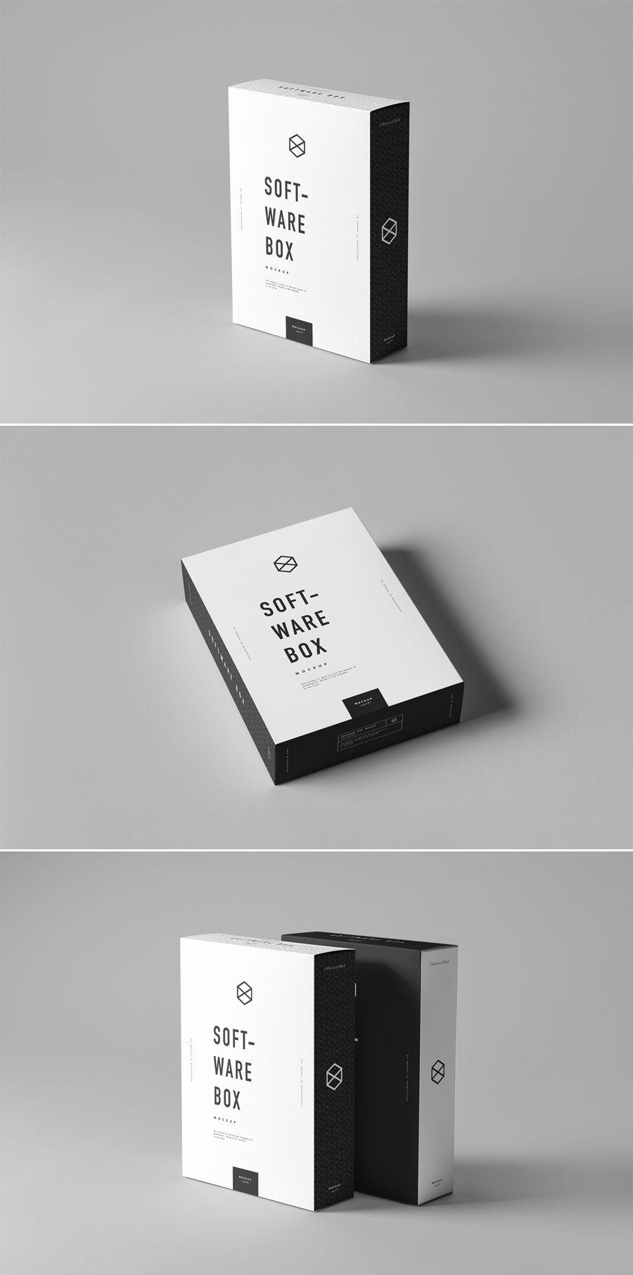 Download 6 Software Box Mockup Psd Box Mockup Packaging Mockup Box Packaging Design