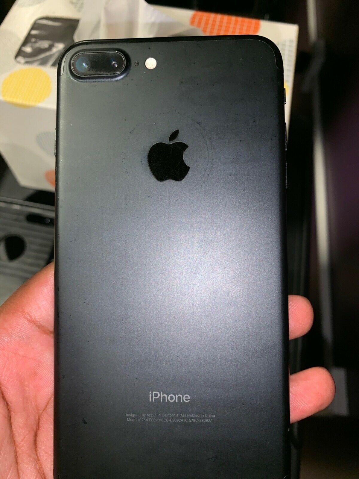 Apple Iphone 7 Plus 32gb Black Unlocked Smartphone Celulares Iphone Coisas De Iphone Iphone