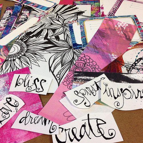 making limited edition #diyplanner #collage kits #mixedmedia #plannercommunity #plannergirl #planner #plannergirl #artjournal #artjournalPLAY | por treiCdesigns
