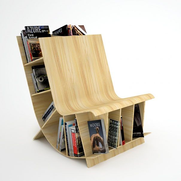 40 Unusual And Creative Bookcases. Creative BookshelvesBookshelf  DesignBookshelf IdeasBuilt ...