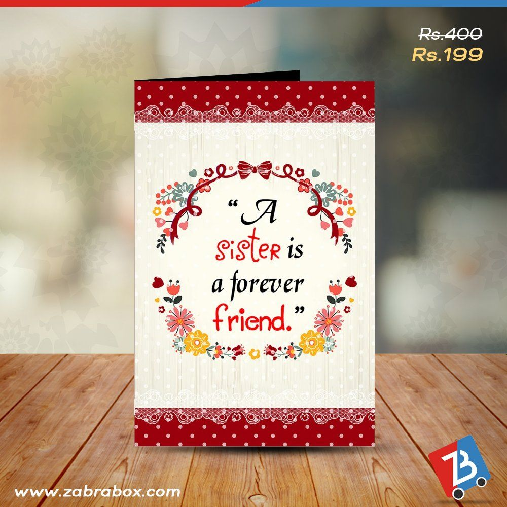 Send a greeting card to your sister and express her the feeling of send a greeting card to your sister and express her the feeling of affection on the kristyandbryce Gallery