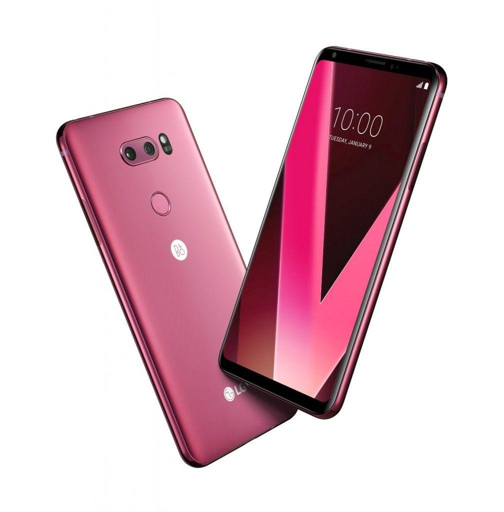 شركة إل جي تعلن عن لون جديد لجوال LG V30 سيصل قريبا للأسواق