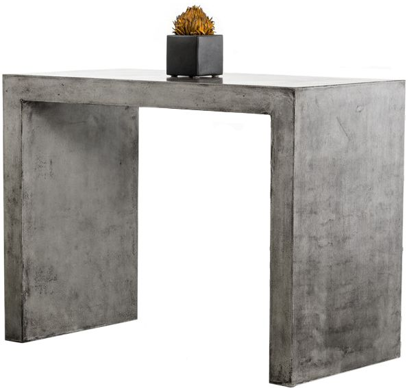 Frantz Concrete Bar Table In 2020 Concrete Bar Cement Table