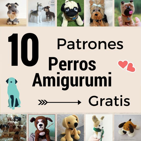 perro amigurumi patron gratis | Amigurumi animals~♡ | Pinterest ...
